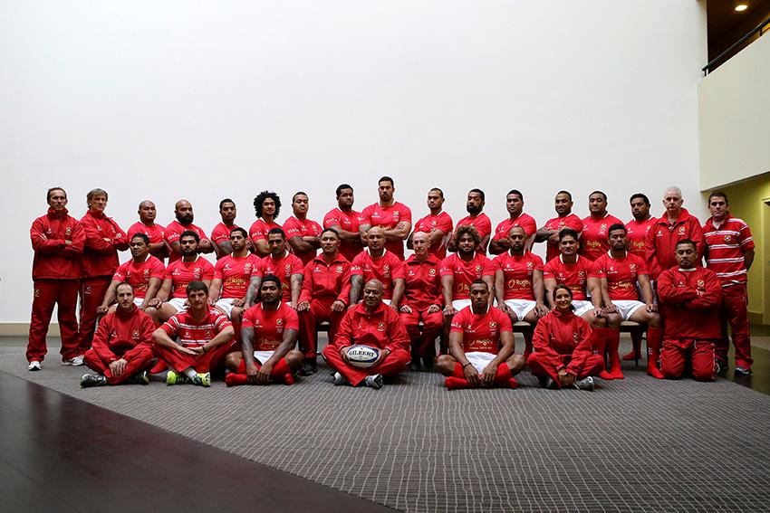 2014 Ikale Tahi Tonga Rugby V France